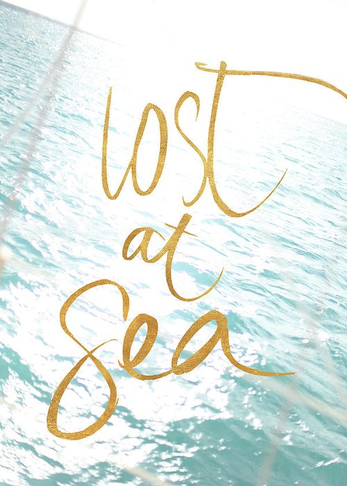 Lost At Sea Greeting Cards