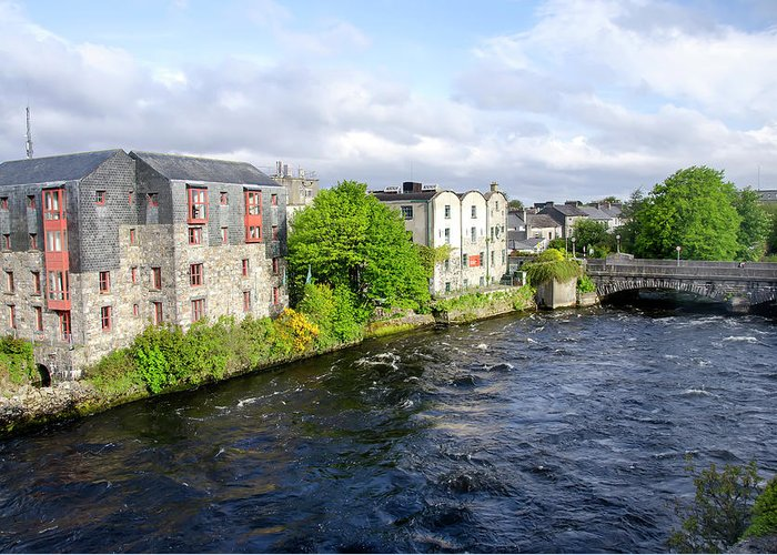 Tranquility Greeting Card featuring the photograph Lough Corrib Galway City Ireland by M Timothy O'keefe