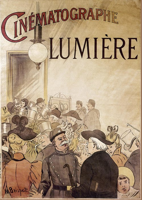 Louis Lumiere Greeting Cards