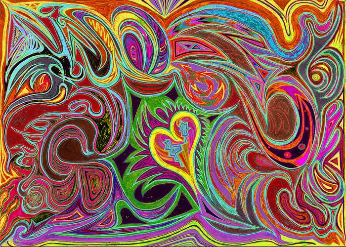 Mind Freedom. Art Therapy Greeting Cards