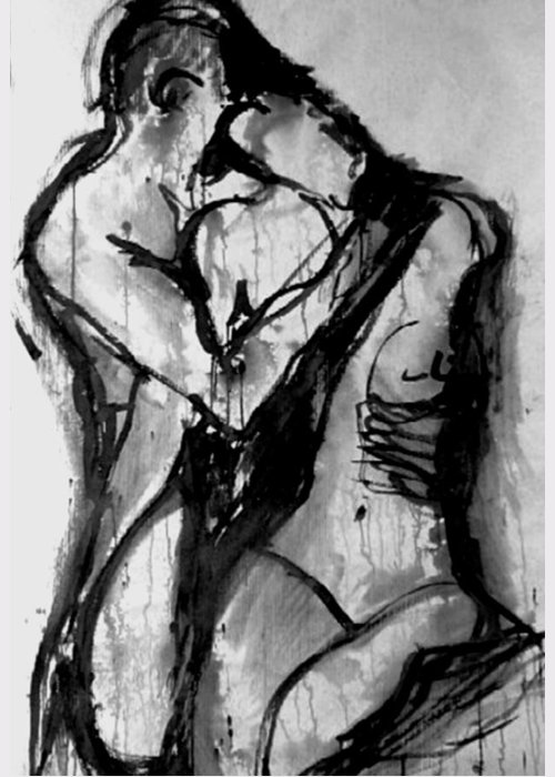 Nude Couple Greeting Cards