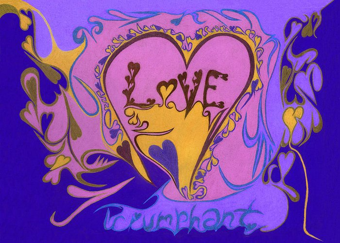 Love Greeting Card featuring the photograph Love Triumphant by Kenneth James