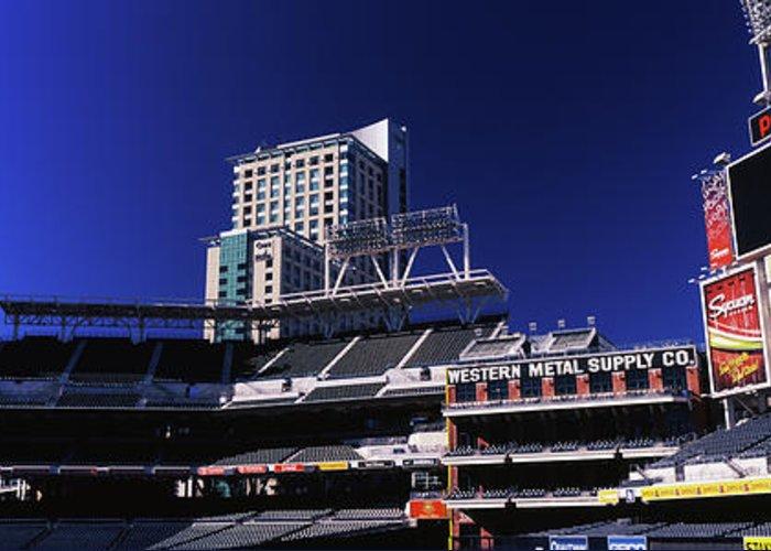 San Diego California Baseball Stadiums Greeting Cards