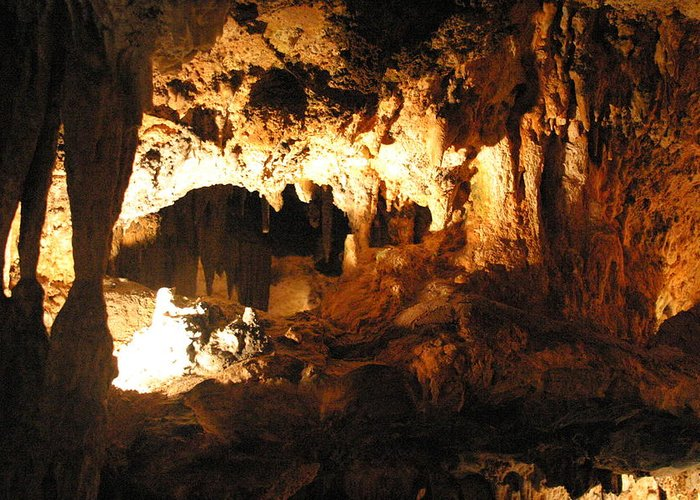 Luray Greeting Card featuring the photograph Luray Caverns - 1212162 by DC Photographer