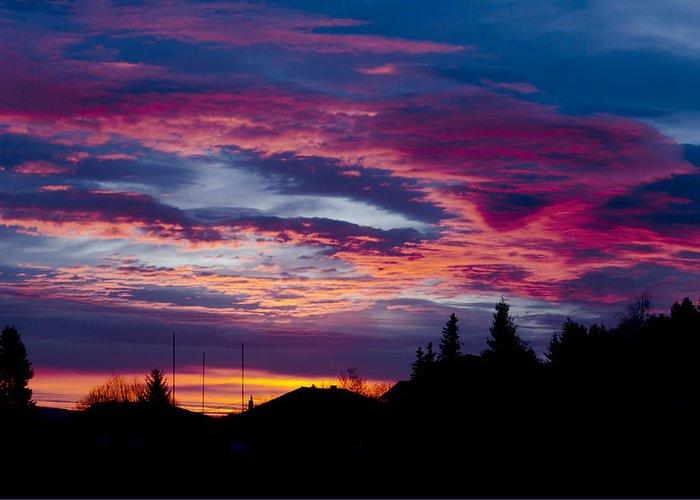 Lurid sky Photograph by Aia Ranguelova