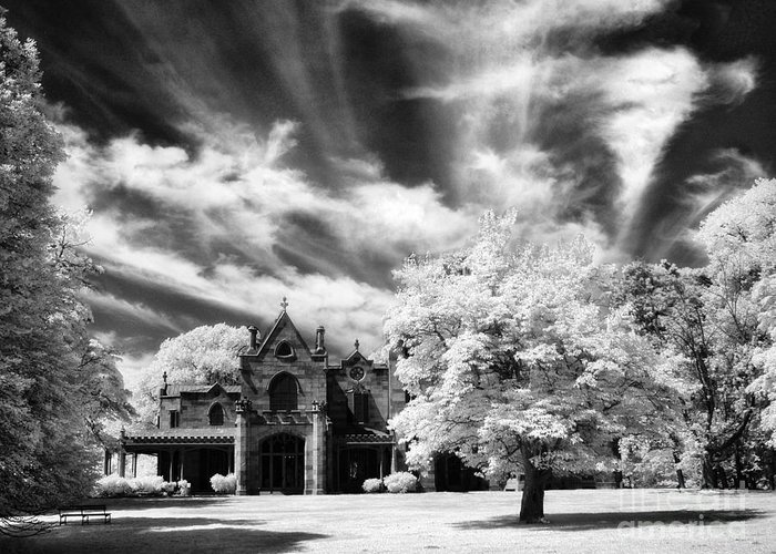 Lyndhurst Greeting Card featuring the photograph Lyndhurst by Claudia Kuhn