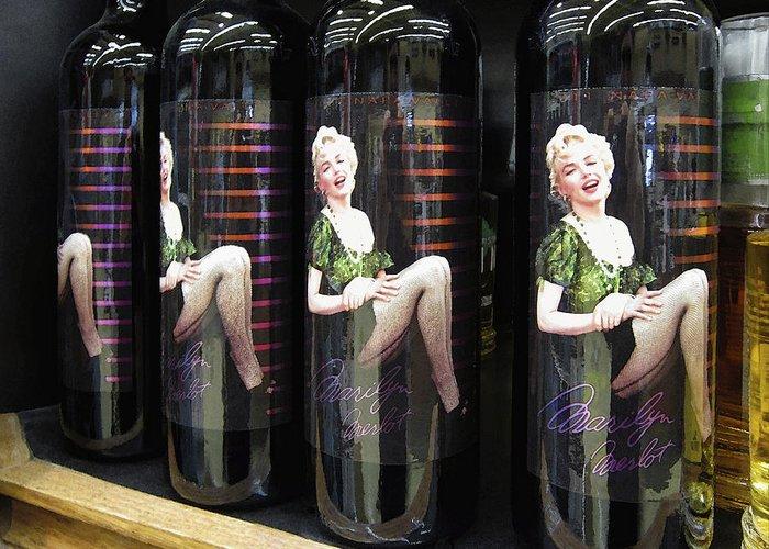 Women Tasting Wine Digital Art Greeting Cards