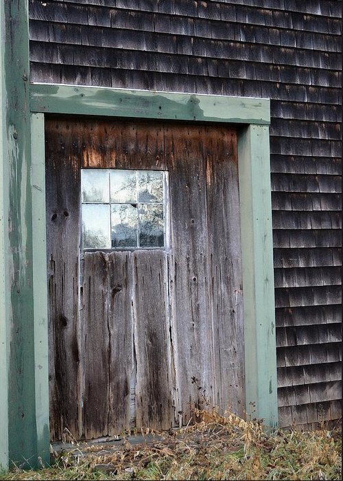 Beauty Greeting Card featuring the photograph Madeline's Barn - Light In The Dark by Nina-Rosa Duddy