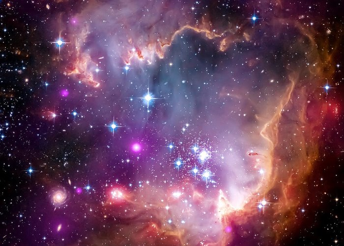 Magellanic Cloud Greeting Cards