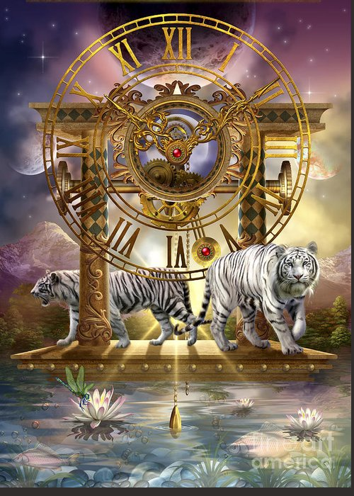 Ciro Marchetti Framed Prints Greeting Card featuring the digital art Magical Moment In Time by Ciro Marchetti