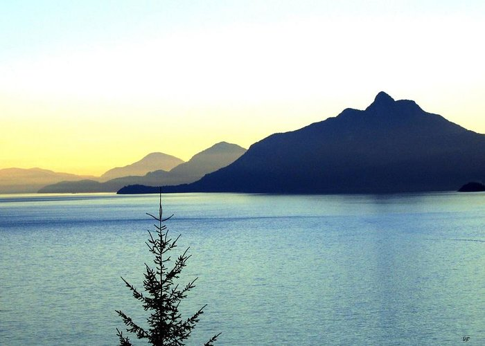 Vancouver Greeting Card featuring the photograph Magnificent Howe Sound by Will Borden