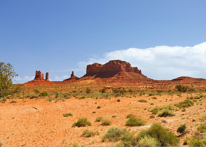 Monument Greeting Card featuring the photograph Magnificent Monument Valley by Christine Till