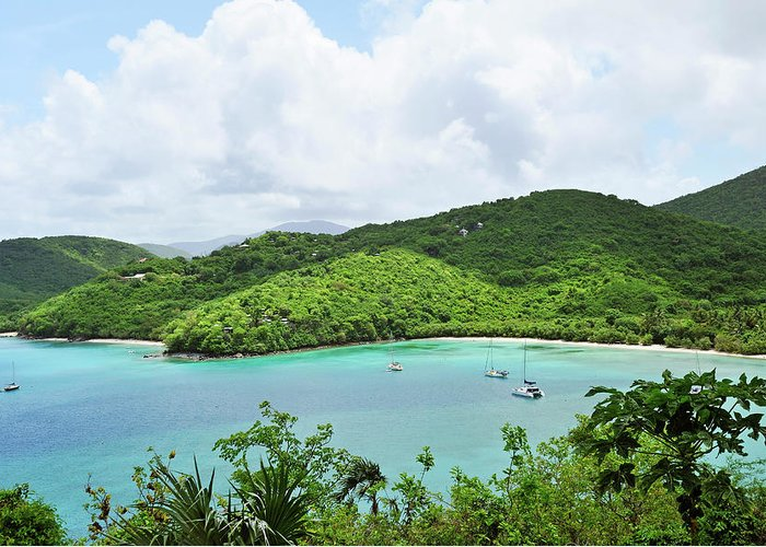 Scenics Greeting Card featuring the photograph Maho Bay, St. John by Driendl Group