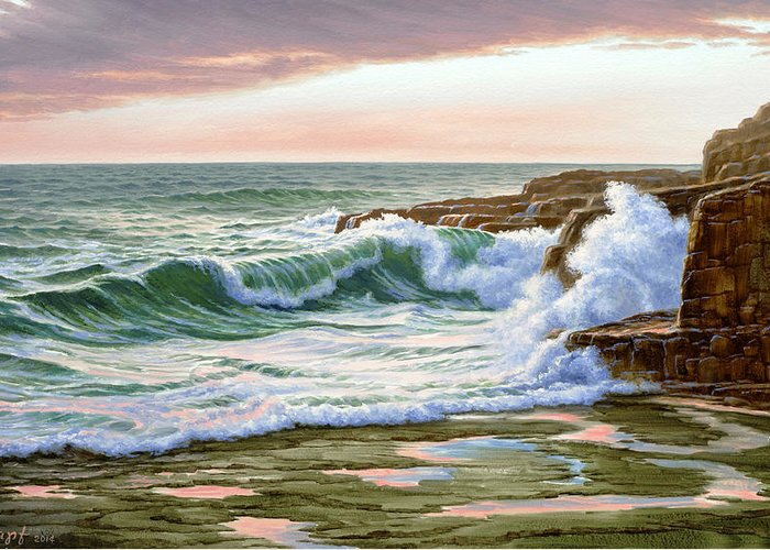 Maine Seascapes Greeting Cards
