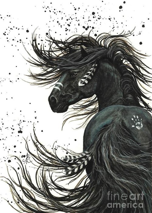 Friesian Art Greeting Cards