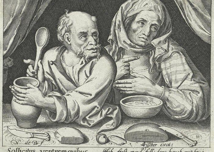 Porridge Drawings Greeting Cards