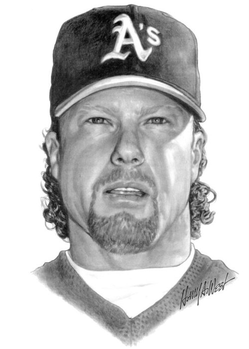 Mcgwire Drawings Greeting Cards