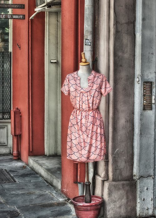 New Orleans Greeting Card featuring the photograph Market Fashion by Brenda Bryant
