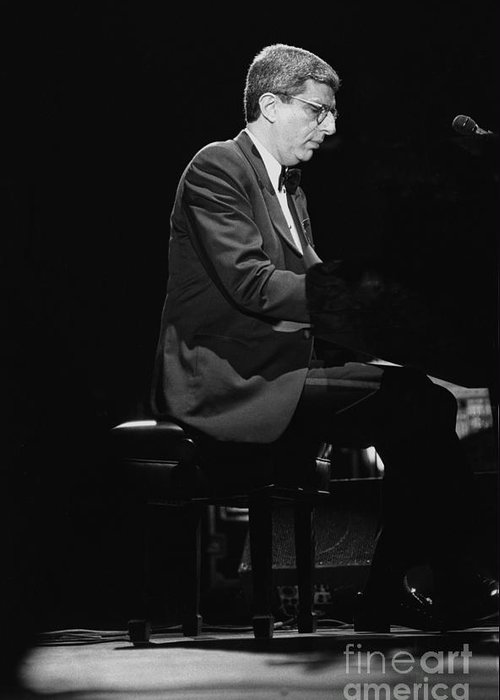 Composer Greeting Card featuring the photograph Marvin Hamlisch by Concert Photos
