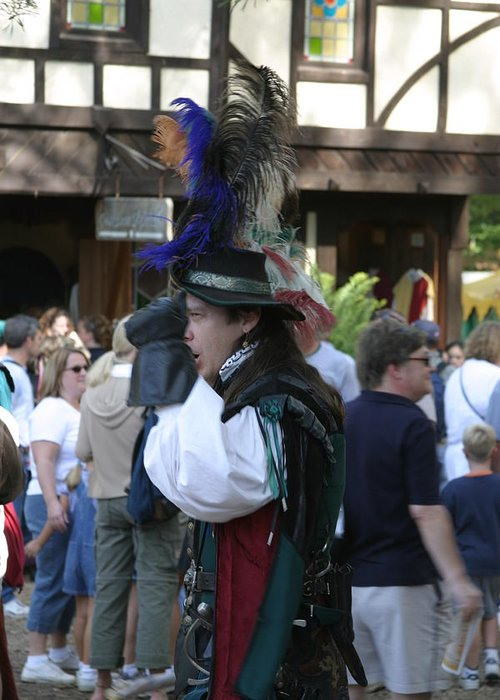 Maryland Greeting Card featuring the photograph Maryland Renaissance Festival - People - 1212108 by DC Photographer