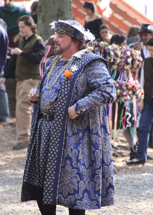 Maryland Greeting Card featuring the photograph Maryland Renaissance Festival - People - 121250 by DC Photographer