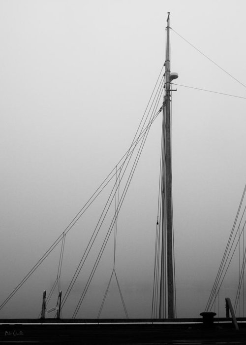 Abstract Greeting Card featuring the photograph Mast And Rigging by Bob Orsillo