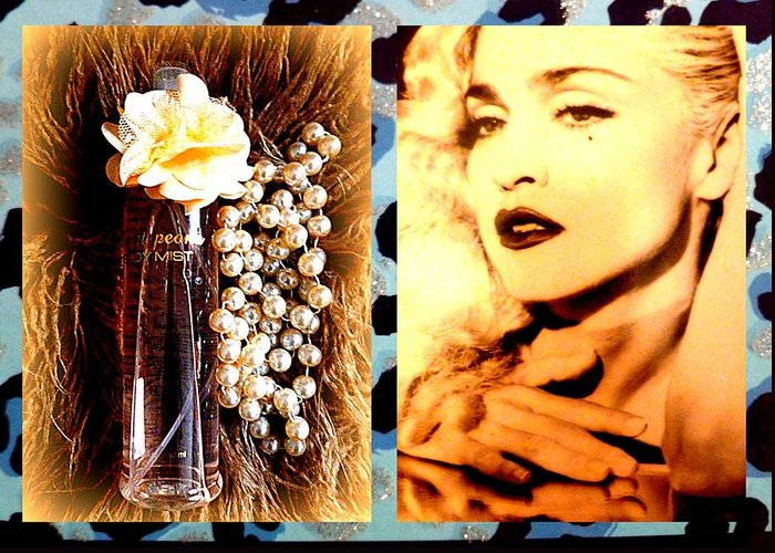 Material Greeting Card featuring the photograph Material Girl by The Creative Minds Art and Photography