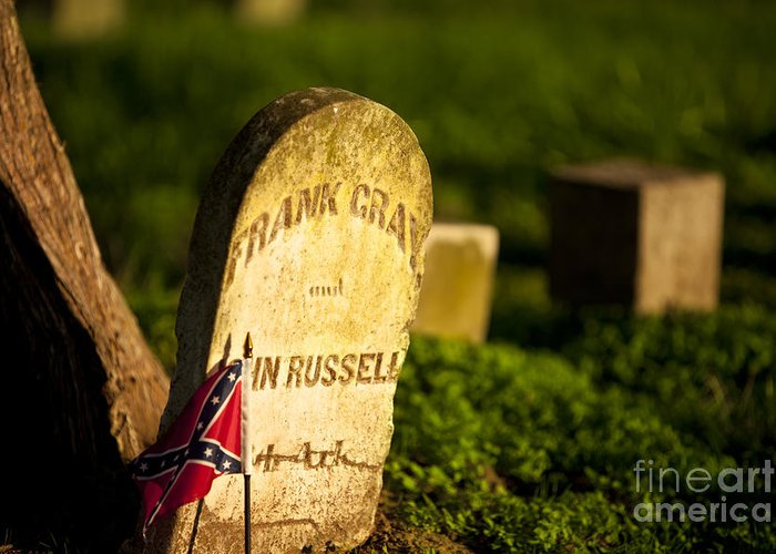 Mcgavock Greeting Card featuring the photograph Mcgavock Confederate Cemetery by Brian Jannsen