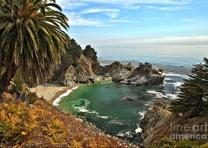Mcway Falls Greeting Card featuring the photograph Mcway Falls by Adam Jewell