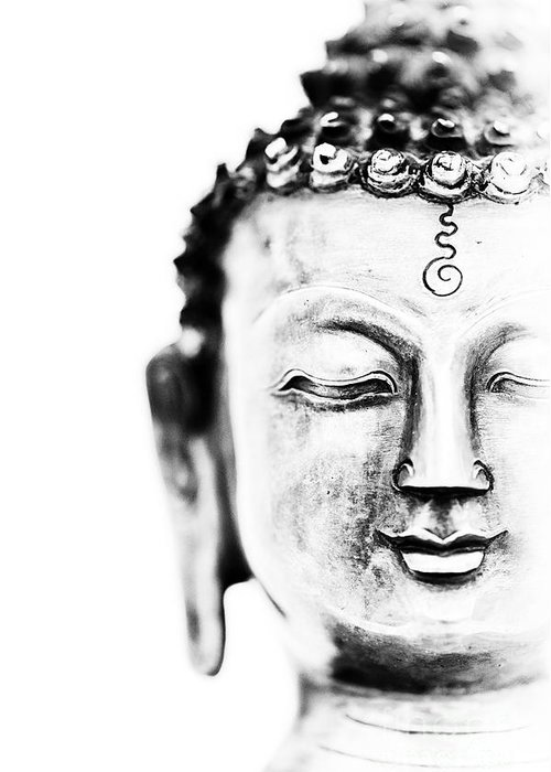 Medicine Greeting Card featuring the photograph Medicine Buddha by Tim Gainey