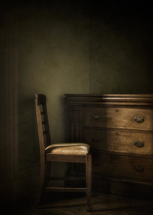 Chair Greeting Card featuring the photograph Memories by Amy Weiss