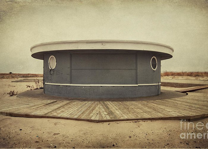 Jones Beach Greeting Card featuring the photograph Memories In The Sand by Evelina Kremsdorf
