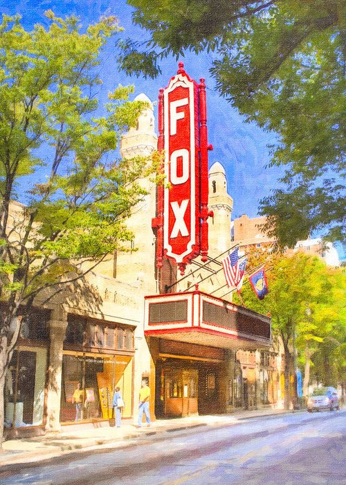 Atlanta Greeting Card featuring the photograph Memories Of The Fox Theatre by Mark E Tisdale