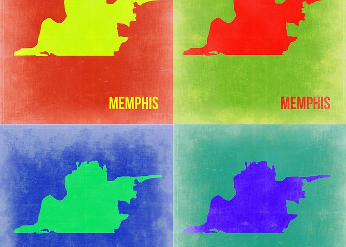 Memphis Art Greeting Cards