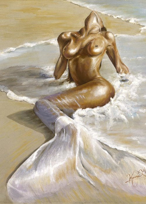 Front Nude Greeting Cards