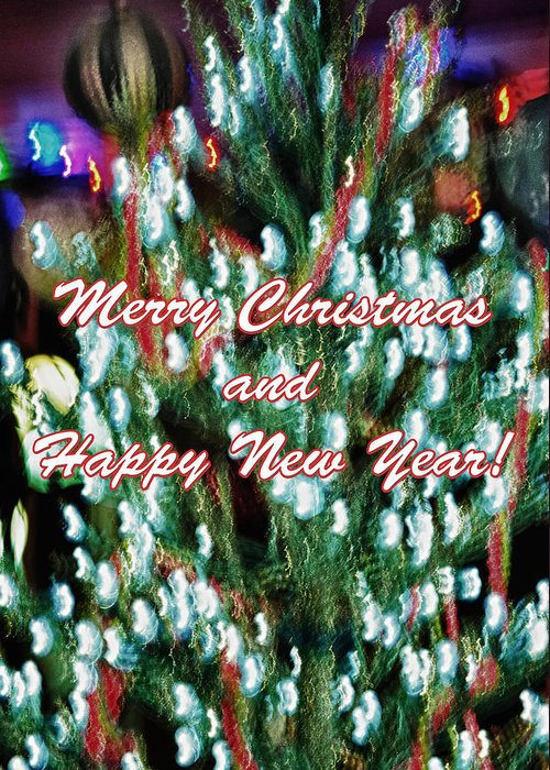 Christmas Greeting Card featuring the photograph Merry Christmas 2 by Skip Nall