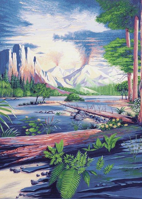 Mesozoic Era Greeting Cards