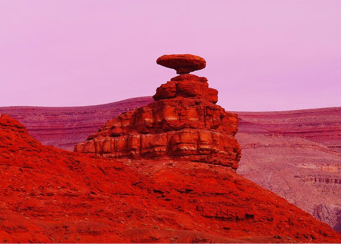 Utah Greeting Card featuring the photograph Mexican Hat by Jeff Swan