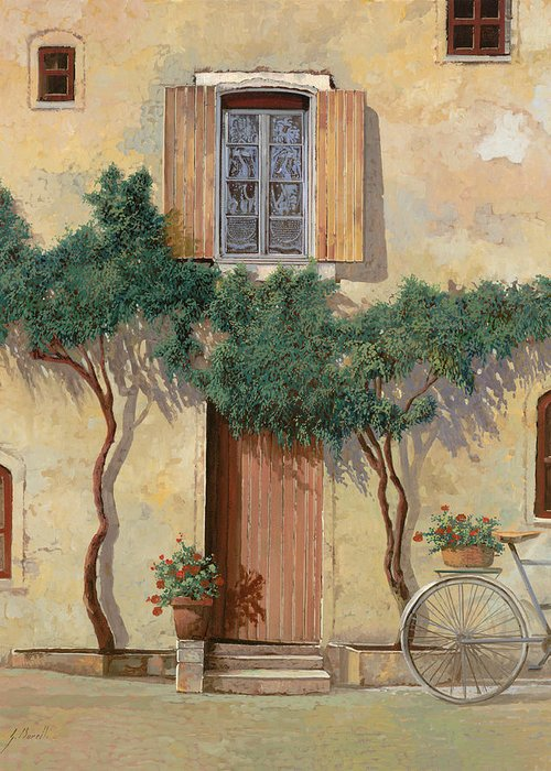 Bicycling Tuscany Greeting Cards