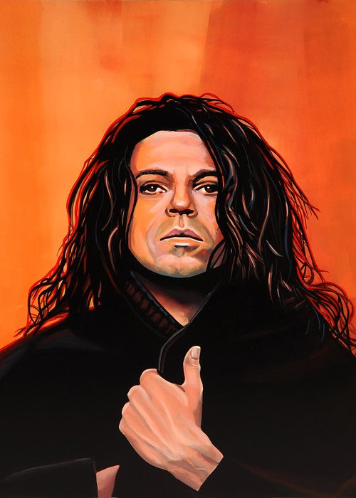 Michael Hutchence Greeting Cards