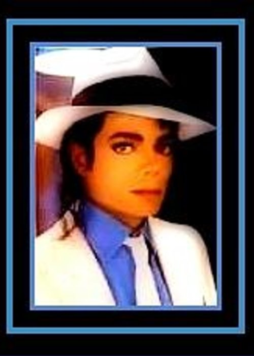 Greeting Card featuring the digital art Michael Jackson by Tracie Howard