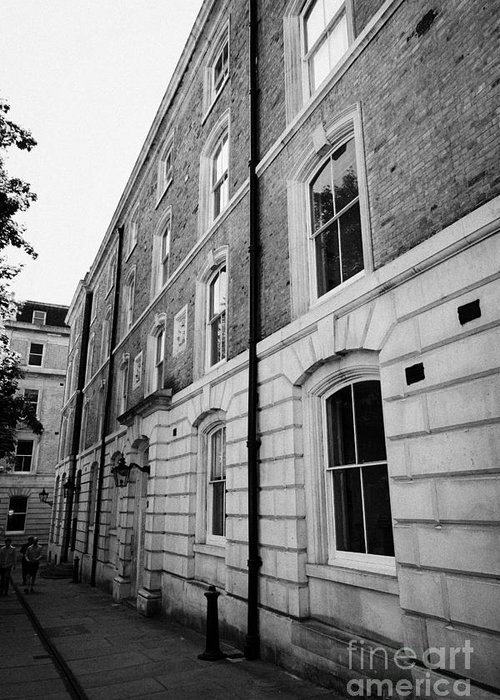 Middle Greeting Card featuring the photograph middle temple chambers London England UK by Joe Fox