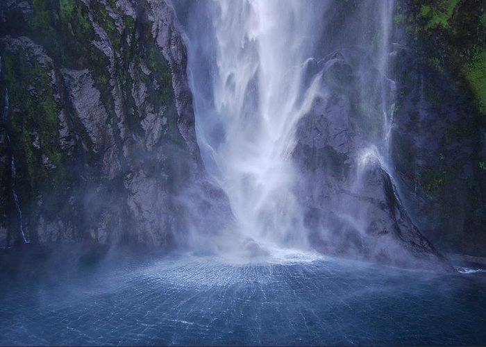 Milford Sound Greeting Card featuring the photograph Milford Sound New Zealand by Jocelyn Friis