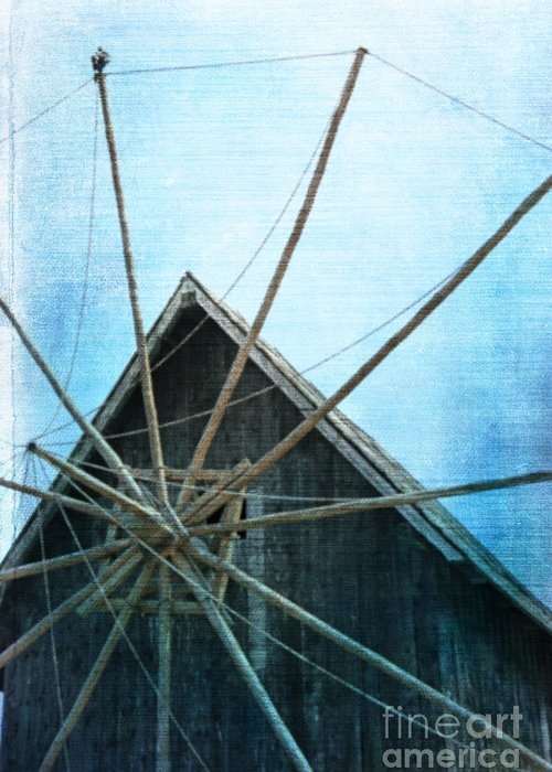 Mill Greeting Card featuring the photograph Mill by Lali Kacharava