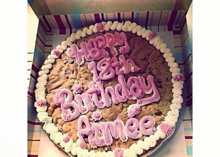 Millies Cookie Birthday Cake Greeting Card For Sale By Aimee Tyreman