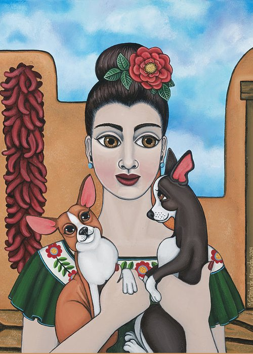 Chicano Art Greeting Cards