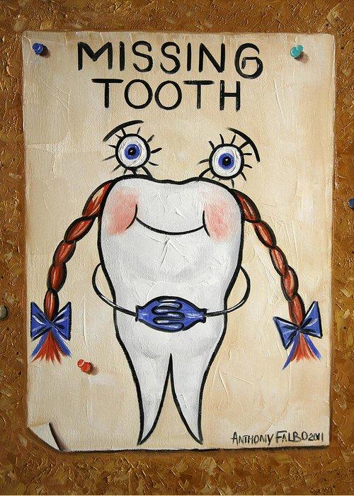 Missing Teeth Greeting Cards