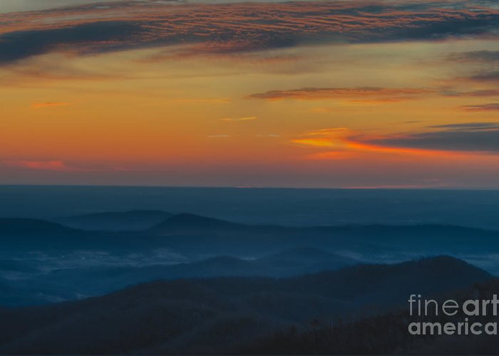 Sunrise Greeting Card featuring the photograph Moments Before Sunrise by Thomas Major