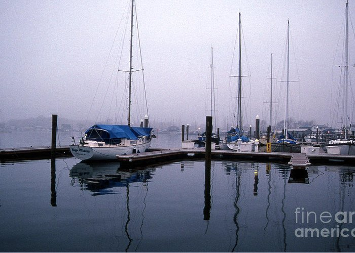 Sailing Gear Greeting Card featuring the photograph Monday Morning by Skip Willits