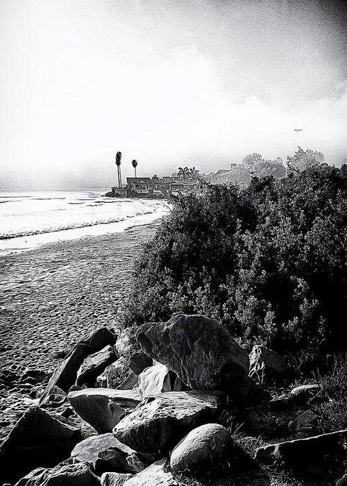 Mondos Greeting Card featuring the photograph Mondos Shoreline by Ron Regalado